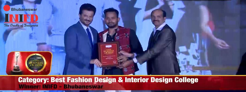 INIFD Bhubaneswar Got Times Business Award Bhubaneswar 2020